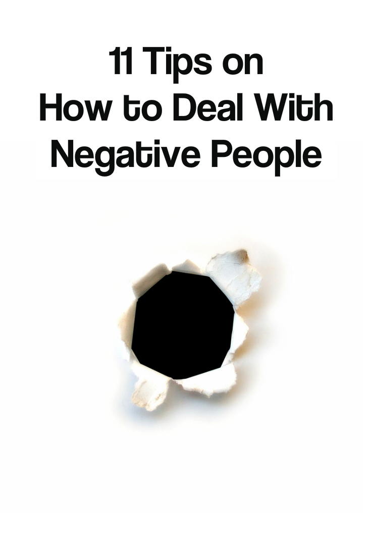 11 tips on how to deal with negative people