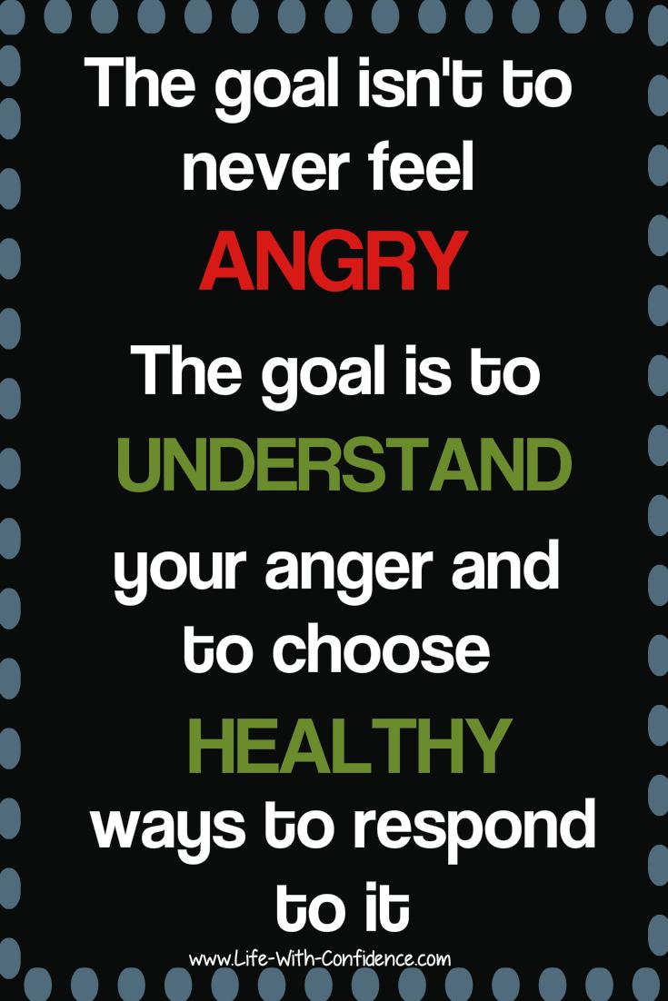 It's okay to feel angry