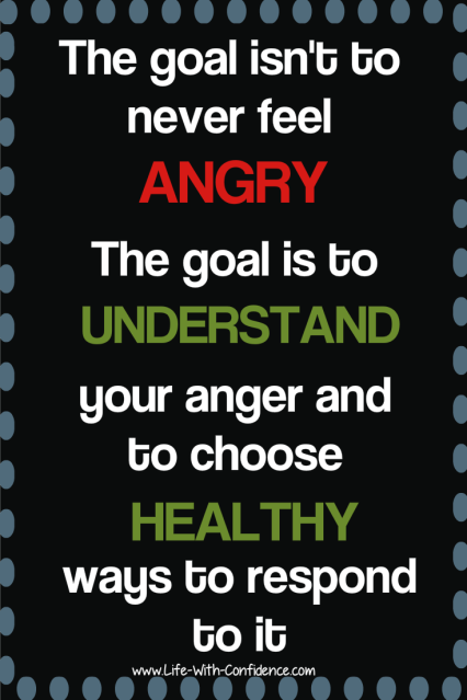 It's okay to feel angry
