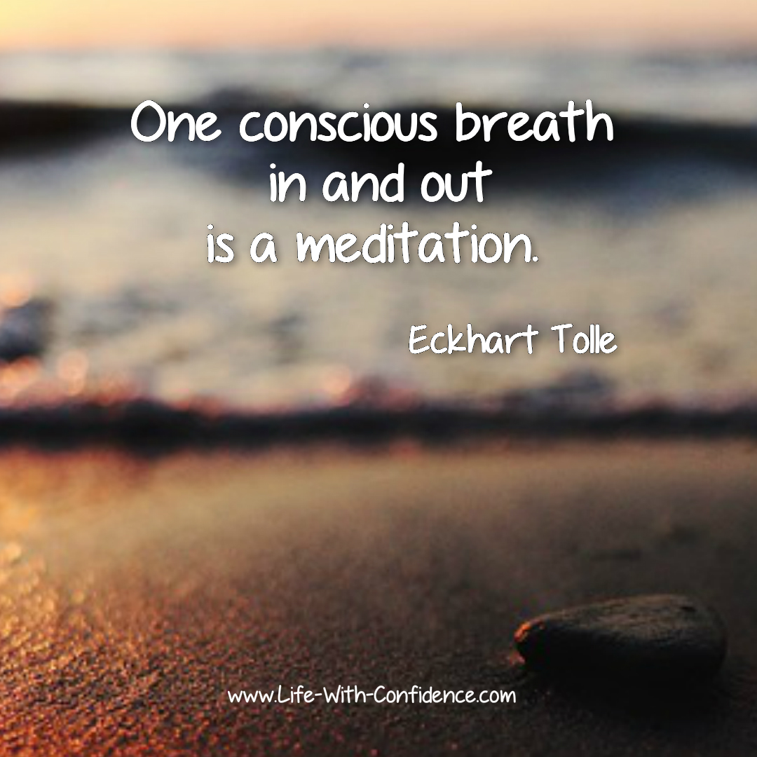 Eckhart Tolle quote,