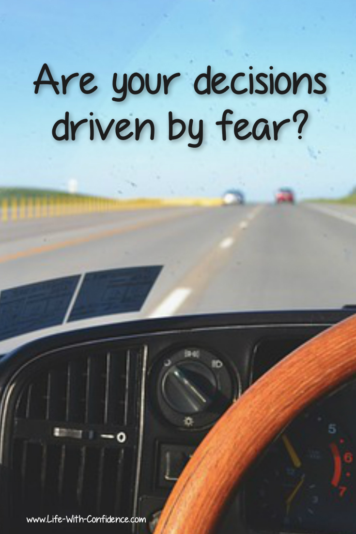 Do you make your decisions based on fear? Here's why that happens and why you need to change that.