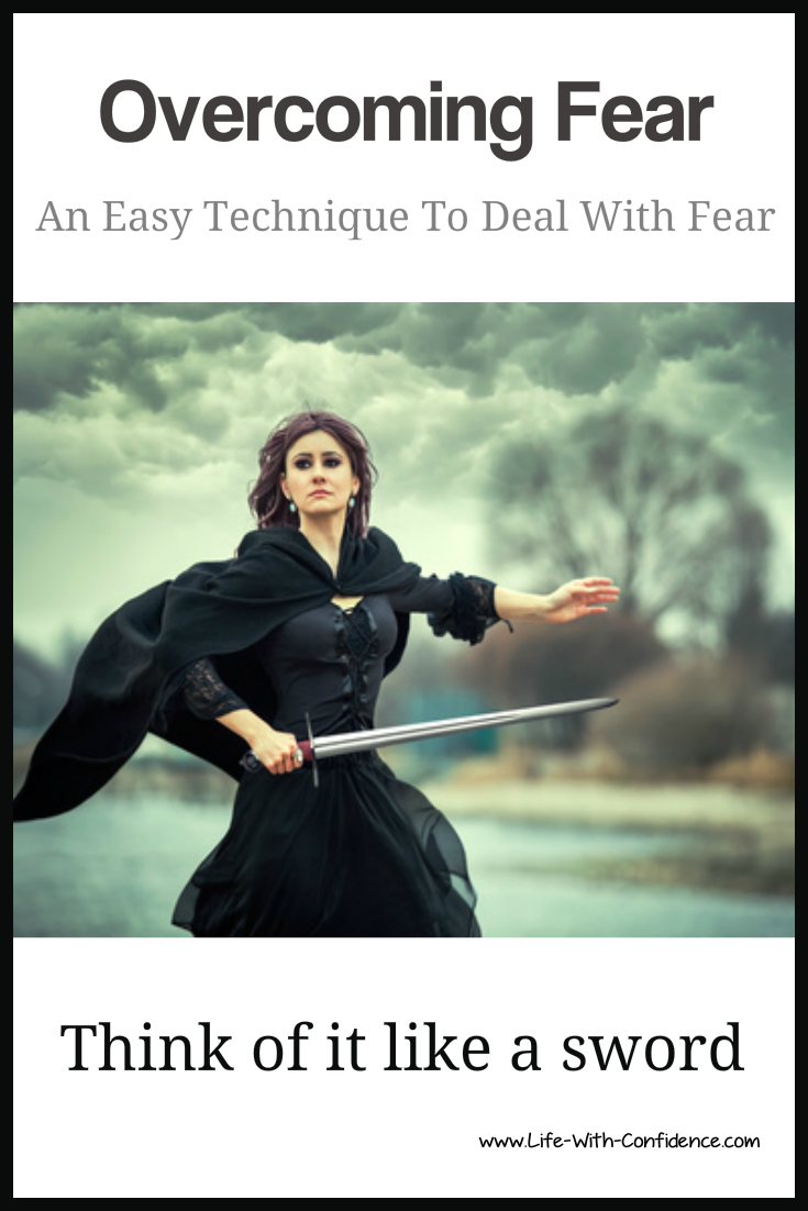 fear is a doubled edged sword but you can pick which side to use