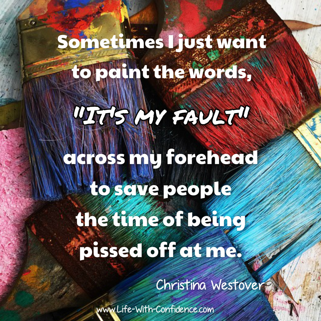 Sometimes I just want to paint the words