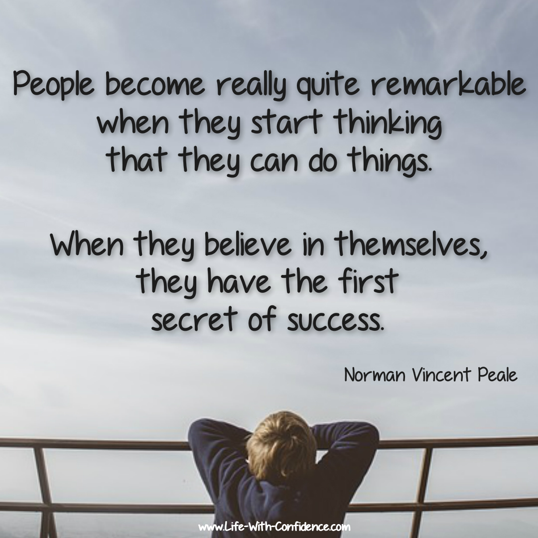 Norman Vincent Peale quote.