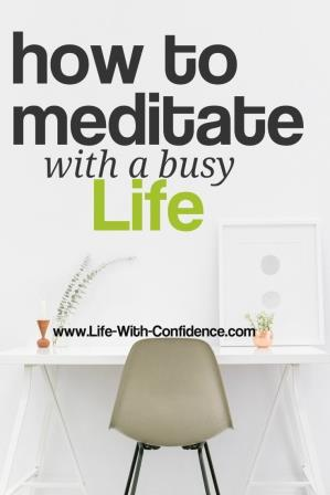 How do you find time to meditate when your life is already completely full? Here are the six things I realized I was letting get in my way to being able to do it.