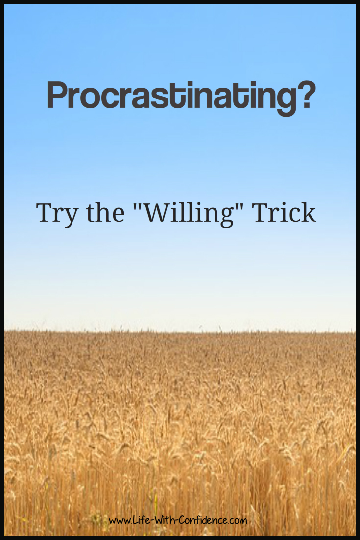Procrastinating? Try the
