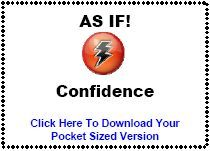 download As If! Confidence pocket sized version