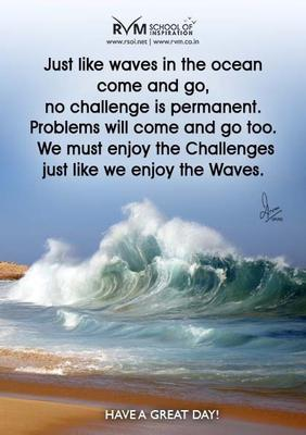 Ocean Waves Life Quotes