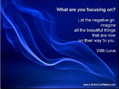 Positive Thought - What are you focusing on?