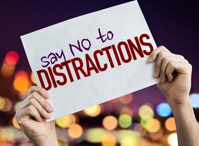 Say NO to Distractions